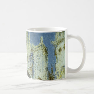 Rouen Cathedral West Facade Sunlight, Claude Monet Coffee Mug