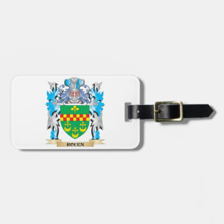 Rouen Coat of Arms - Family Crest Tags For Bags