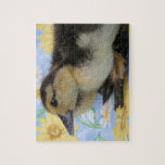 rouen duckling facing left low head jigsaw puzzles