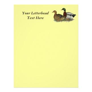 Rouen Ducks Letterhead