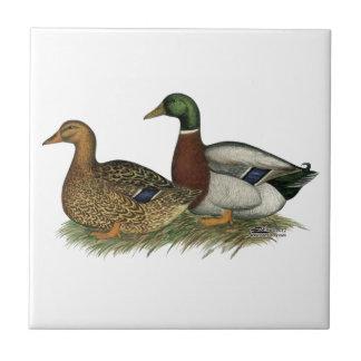 Rouen Ducks Tiles