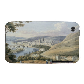 Rouen from Mont Sainte-Catherine (w/c on paper) iPhone 3 Case