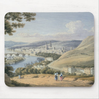 Rouen from Mont Sainte-Catherine (w/c on paper) Mouse Pad
