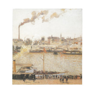 Rouen, Saint Sever Morning by Camille Pissarro Notepad