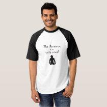 Rougarou Is My Spirit Animal Louisiana Baseball T T-shirt