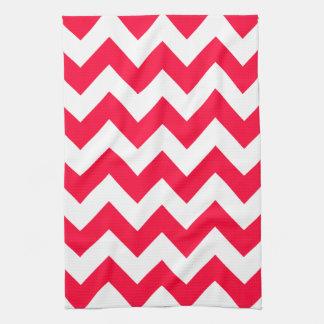 Rouge Bold Chevron Kitchen Towel