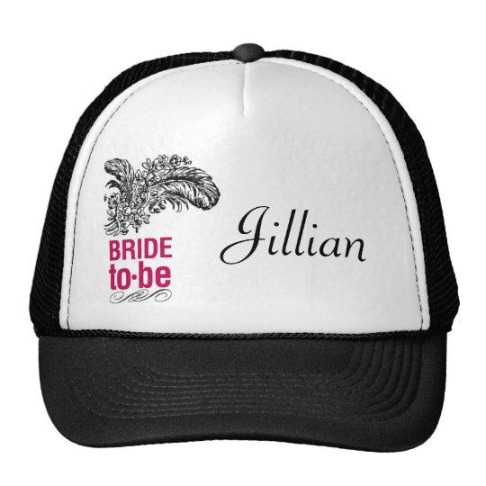 Rouge Bridal Cap Trucker Hat