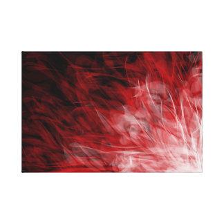 Rouge Movement - Canvas Print