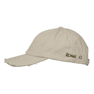 ROUGE-O EMBROIDERED BASEBALL CAP