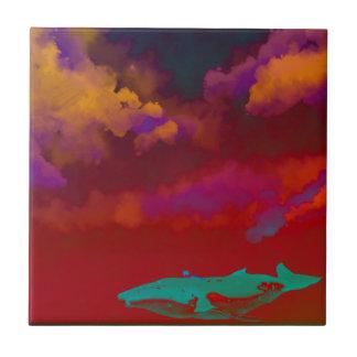 Rouge Sea Tile