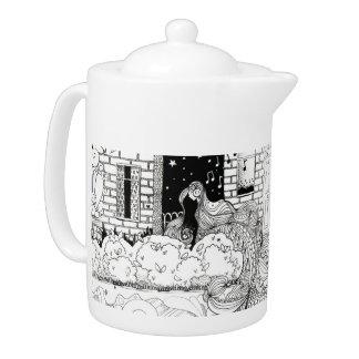 Rouge street Teapot