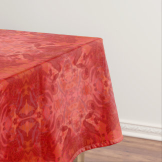 rouge tablecloth