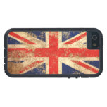 Rough Aged Vintage British Flag Cover For iPhone 5/5S