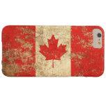 Rough Aged Vintage Canadian Flag iPhone 6 Plus Case