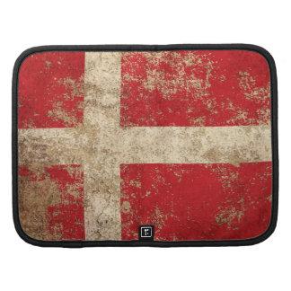 Rough Aged Vintage Danish Flag Planner