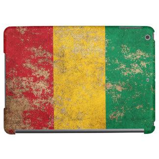 Rough Aged Vintage Guinea Flag iPad Air Cover