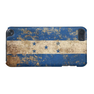 Rough Aged Vintage Honduras Flag iPod Touch (5th Generation) Cases