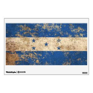 Rough Aged Vintage Honduras Flag Room Decals