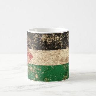 Rough Aged Vintage Palestinian Flag Mug
