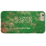 Rough Aged Vintage Saudi Arabian Flag iPhone 6 Plus Case