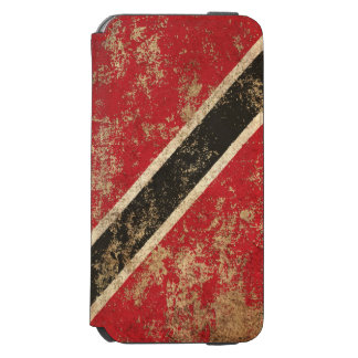 Rough Aged Vintage Trinidad and Tobago Flag Incipio Watson™ iPhone 6 Wallet Case