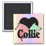 Rough and Smooth Collie Gifts Fridge Magnets
