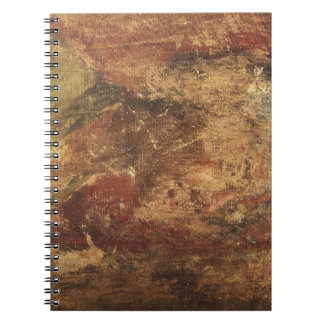 Rough and Weathered Grunge Texture Spiral Notebook