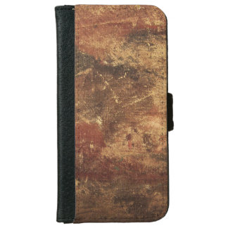 Rough and Weathered Grunge Texture Wallet Phone Case For iPhone 6/6s