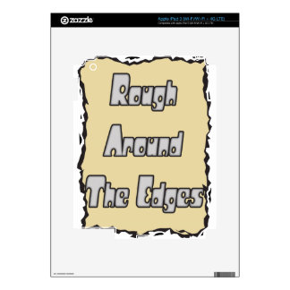 rough around the edges skins for iPad 3