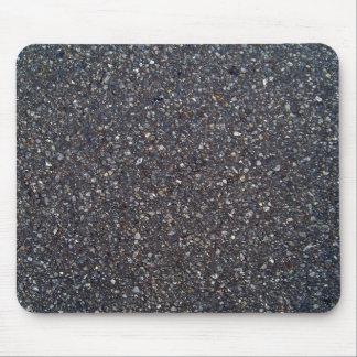 Rough Asphalt Road Texture Close up Mouse Pad
