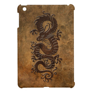 Rough Chinese Dragon Case For The iPad Mini