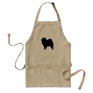 Rough Chow Chow Adult Apron