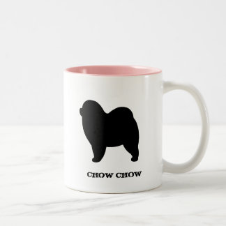 Rough Chow Chow Two-Tone Coffee Mug