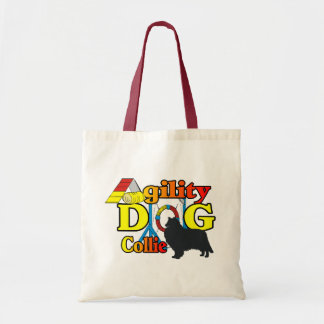 rough collie agility shirts gifts tote bag