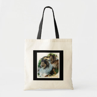 Rough Collie Art Gifts Tote Bag