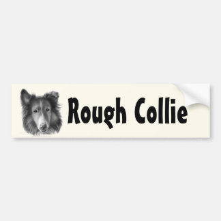Rough Collie Bumper Sticker
