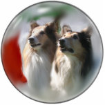 Rough Collie Christmas Gifts Photo Cutouts