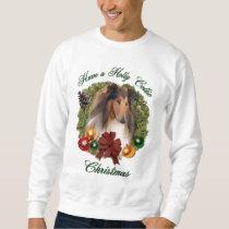 Rough Collie Christmas Gifts Sweatshirt