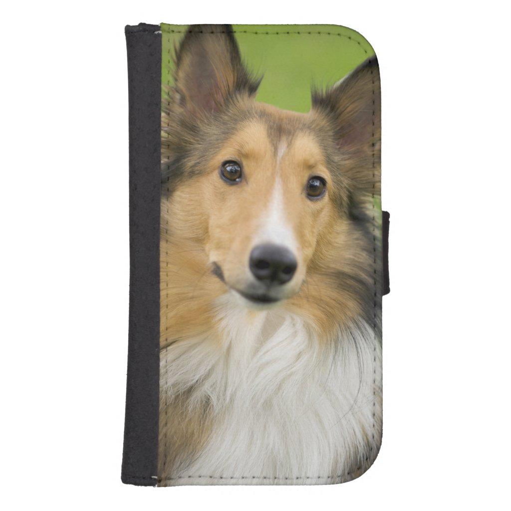 Rough Collie, dog, animal Phone Wallet Case