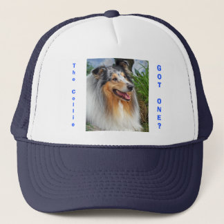Rough collie dog got one? fun, humorous cap, hat