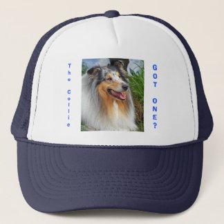 Rough collie dog got one? fun, humorous cap, hat
