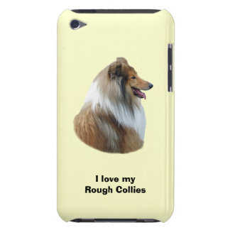 Rough Collie dog portrait photo Barely There iPod Case