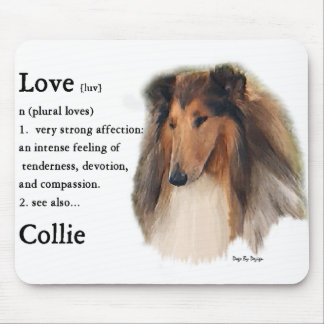 Rough Collie Gifts Mouse Pad