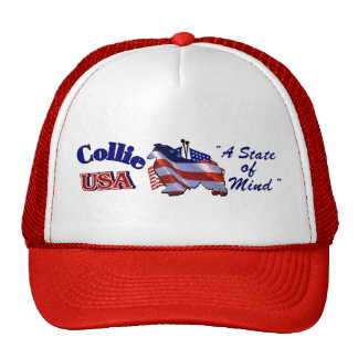 Rough Collie Gifts Trucker Hat