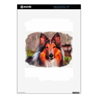 Rough Collie iPad 2 Decal
