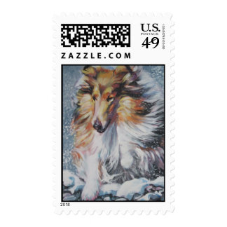 rough collie postage