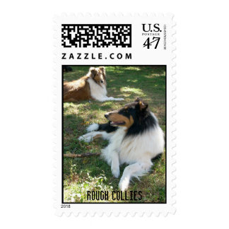 Rough Collies Postage