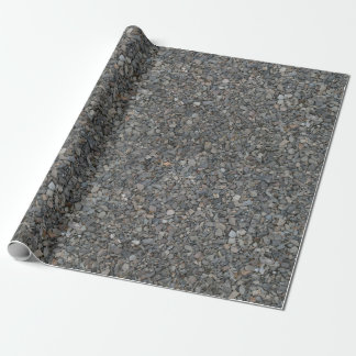 Rough Course Rocky Gravel Wrapping Paper