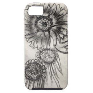 Rough Doodle with Beauty iPhone SE/5/5s Case