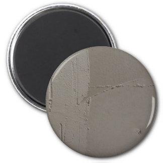 Rough Gray Concrete Kitchen Magnet